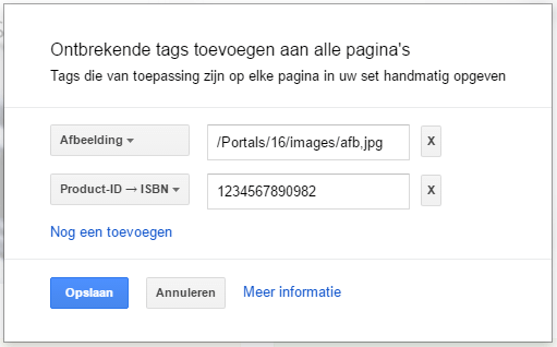 Rich Snippets maken via Google Search Console