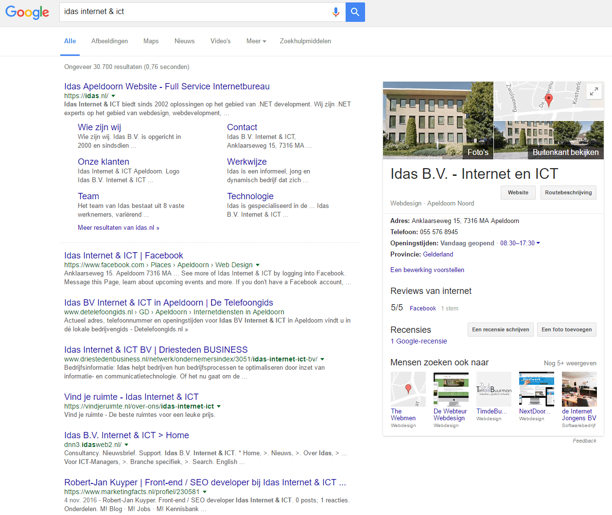 The knowledge Graph van Idas