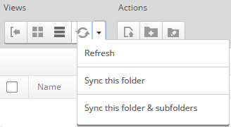 Sync your files in DNN